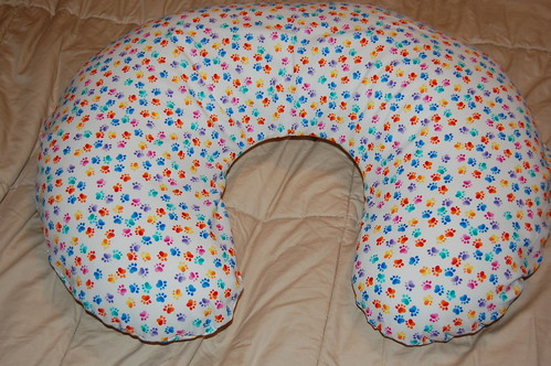 Finished: Christina's Boppy Covers!