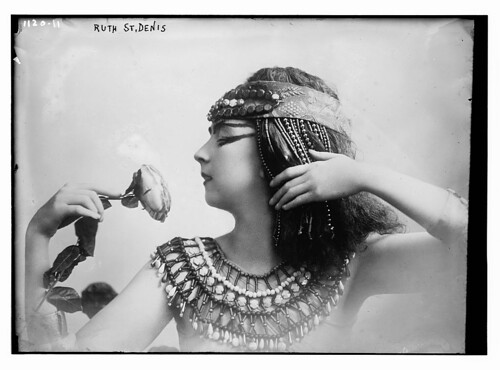 Ruth St. Denis, as Cleopatra