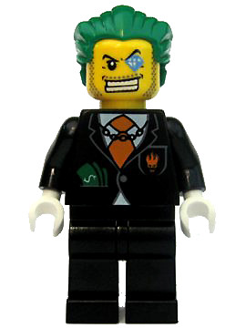 Dollar Bill - LEGO Agents Minifigure