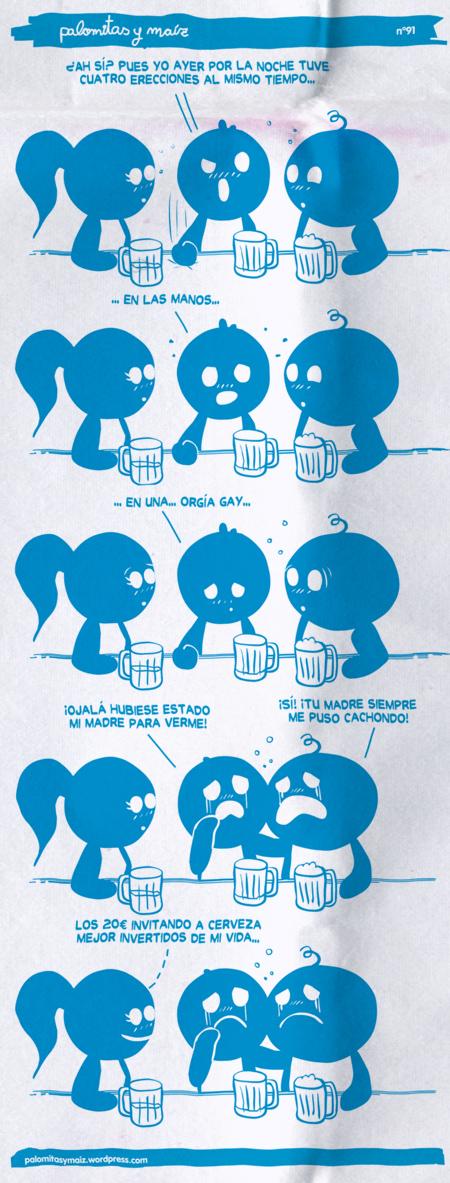Thumb Palomitas y Maíz: Salen las verdades con unas cervezas