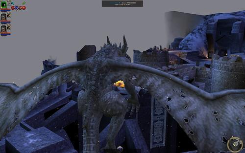 Talon (on battlements) 09