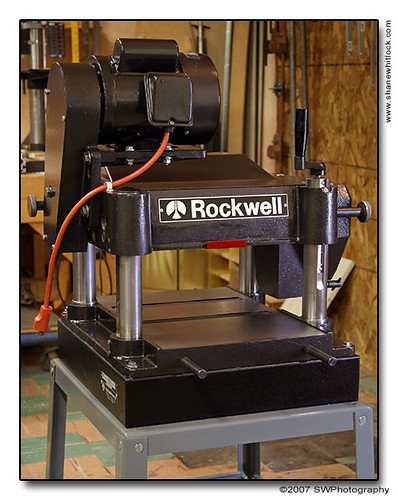 13 inch Rockwell Planer (1982)