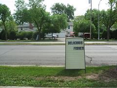Seafood Center sign
