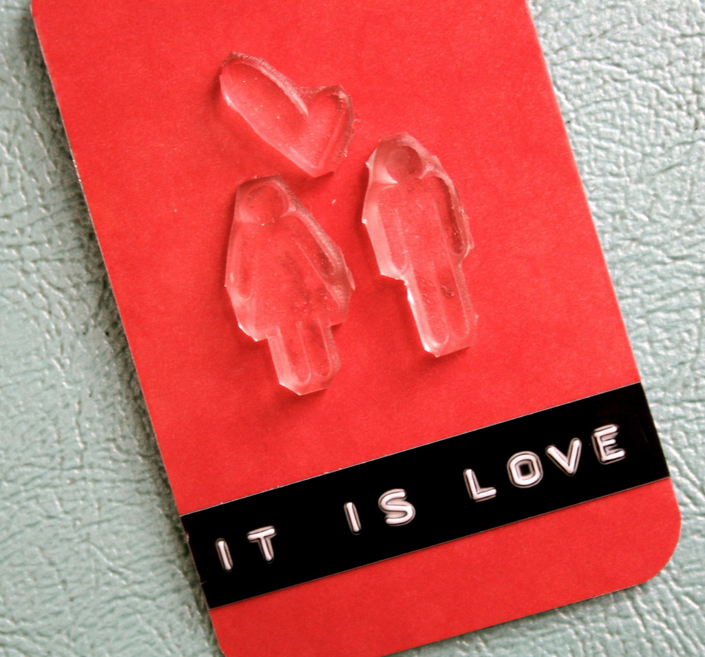 It is Love - Reusable Stamps