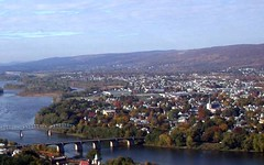 West Pittston, PA, where Lee grew up (by: ScranBarre via city-data.com)