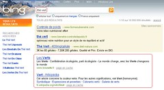 Thé vert Bing Microsoft FAIL