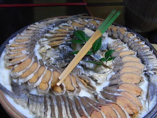 Funazushi at Kitashina, Takashima, Shiga