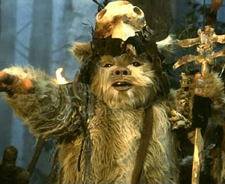 mr bornea gving ewoks a bath Remember: the first (fourth) film wasn't intended as the opening (middle) of a grand epic it was simply not flash gordon, wink wink, a straight-ahead, good-over-evil standalone sci-fi flick meant to give kids a sense of values lucas couldn't give less of a shit if 40-year-olds considered yoda a great philosopher of the ages.