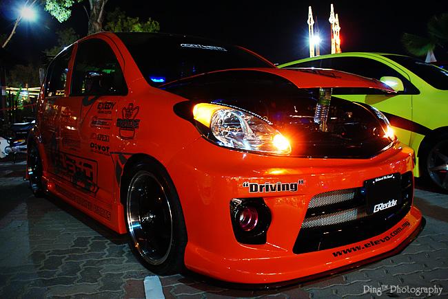 Orange Myvi