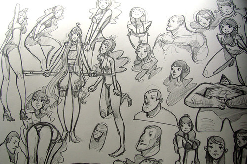 Rob Laro's Sketchpage #001