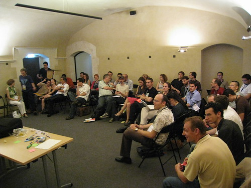 "During my workshop ""what's wrong with the Web?"""