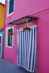 Burano Curtain to the let the air in (SuzenZ) Tags: venice italy landscape burano suzen