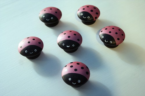 little ladybuggy drawer knobs
