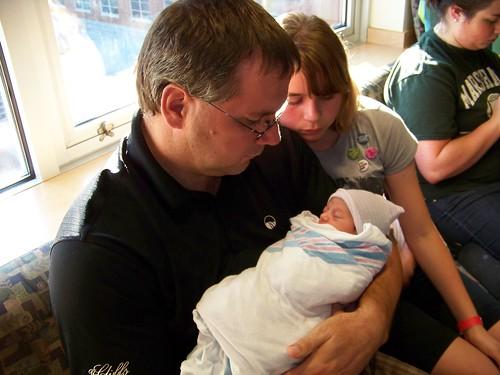 Lorelai, Grandpa, & CJ