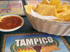 Chips and Salsa at Tampico Grill