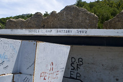 Front of Devil's Gap Battery