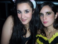 Eyes Wide Open (Alegraa) Tags: girls party black bunny girl beauty yellow glitter youth butterfly fun eyes eyelashes faces adolescente young makeup teenagers teen ojos disfraz felicidad brunette mariposa mirada disfraces gala latingirls brillos diversion maquillaje juventud adolescencia whitegirls pestaaspostizas