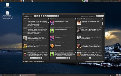 Tweetdeck en Ubuntu