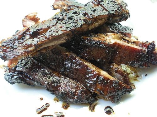 Balsamic Glazed Pork Ribs