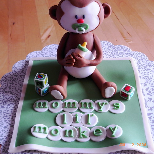 Baby monkey ( green version )