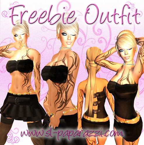 Freebie Outfit & Freebie Skin