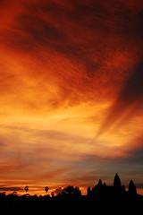 Epic Sunrise over Angkor Wat (mendhak) Tags: red wallpaper sky cloud texture sunrise geotagged temple cambodia flickr awesome vivid angkorwat greatest siemreap angkor ever epic khm fiery afave ព្រះរាជាណាចក្រកម្ពុជា អង្គរវត្ត ក្រុងសៀមរាប geo:lat=1341206625 geo:lon=10386251333 អង្គរ mendhakwallpaper mendhakwebsite