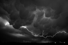 Mammatus Clouds & Lightning (Kevin Aker Photography) Tags: blackandwhite bw favorite nature monochrome weather clouds southdakota photography photo blackwhite interestingness amazing cool interesting image photos awesome favorites monotone images explore lightning powerful thebest rapidcity thunderstorms flickrfavorites mammatus 121gigawatts wildweather bestphotos coolclouds wildnature lightningstrikes coolimages flickrsbest coolimage awesomecapture weatherphotography amazingphotos severethunderstorms thebestonflickr tornadoalley amazingphotography coolphotography lightningphotography boltsoflightning stormphotography awesomeimages lightningstorms awesomeimage southdakotathunderstorms profesionalphotography boltoflight powerfulstorms kevinaker kevinakerphotography kevinakerphotgraphy severlightning severelightningstorms coollightningphotos thebestlightningphotos everyonesfavorites lightningphotographyonflickr coolcaptures thebestweatherphotos awesomeweatherphotos showmethebestphotos exploremyphotography simplyawesomephotography bestphotographyonflickr powerfullightningphotos boltsoflight