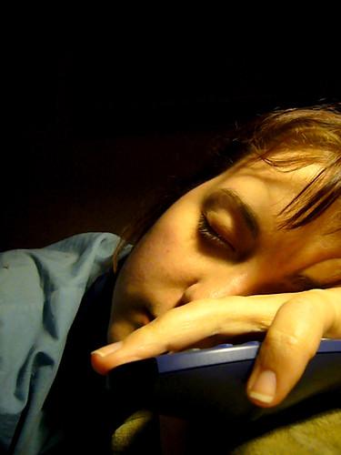 Too tired... sleeping on keyboard...