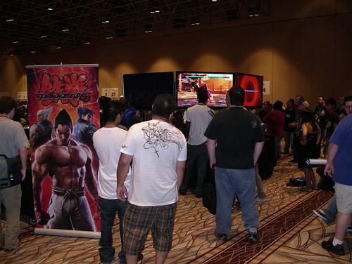 Tekken 6 display