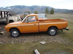 1974 Datsun 620 pickup (Striv3) Tags: datsun 620 bulletside