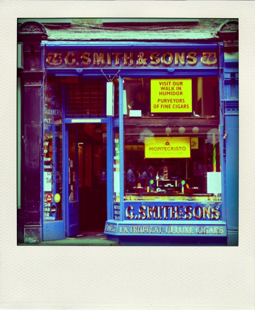 Cigar shop - London