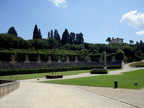 Giardino di Boboli, Palazzo Pitti