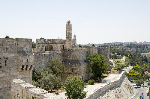 David's Citidel and the Old City.