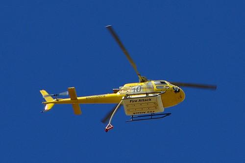 Helicoptero de los Bomberos