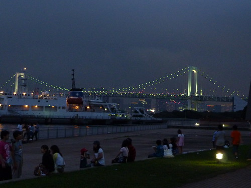 Rainbow Bridge Odaiba noche