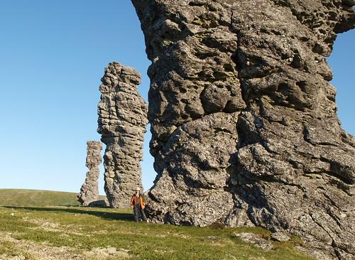 У каменных столбов Маньпупунера
