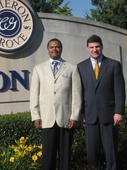 Delegate Holmes and Senator Peters