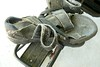 My dirty bike shoes (.Larry Page) Tags: lumix panasonic dirtyshoes larrypage sawdust fz50 bikeshoes somethingdirty scavengerhunt101 sh91