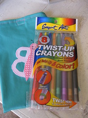 Bellas Twist- Up Crayon Pouch