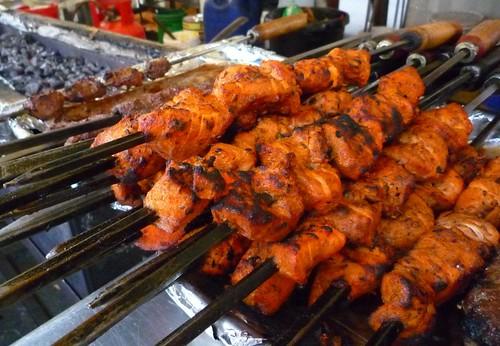 kofta kebab - Chruch st Market London