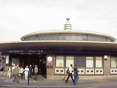 Southgate Tube Station, London