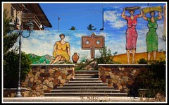 "Terramadre Sardinia, ""Austis sambene meu"". Austis, my blood (gomitolina) Tags: sardegna graffiti sardinia murales sangue barbagia sambene madreterra origini austis terramadre"
