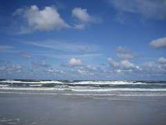 Noordzee bij Schiermonnikoog (turkoois4kant) Tags: strand waddeneiland noordzee zee branding schiermonnikoog golven