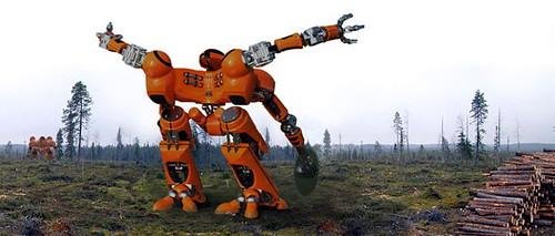 clear-cut robot