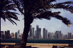 ,. (Sweet.NOy `{Offline}) Tags: sea thanks buildings photography explore corniche qatar  srsr    sweetnony