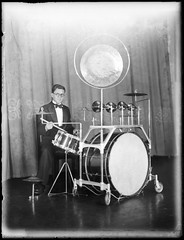 Dance band drummer at Mark Foy's Empress Ballroom (Powerhouse Museum Collection) Tags: musician drums drum stage curtain drummers cymbals drumkit cymbal powerhousemuseum musicalinstruments thomaslennon glassplatenegative dancebands xmlns:dc=httppurlorgdcelements11 sockcymbal dc:identifier=httpwwwpowerhousemuseumcomcollectiondatabaseirn388601 jimcoatesdanceband