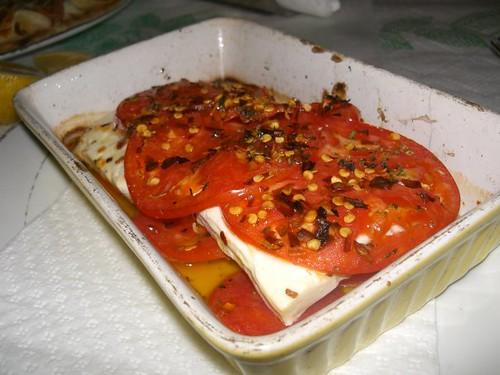 baked feta bouyiourdi hania chania