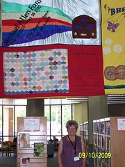 Mom with Michael's AIDs Quilt Panel (Tempesttea) Tags: mom aidsquilt michaelford