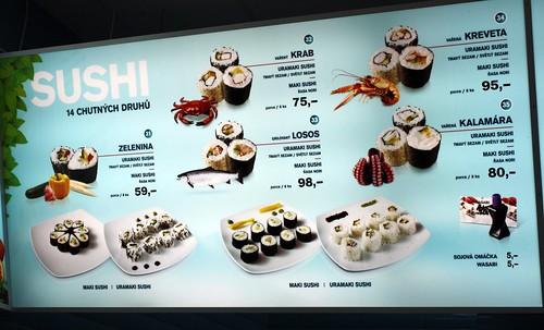 Fastfood sushi