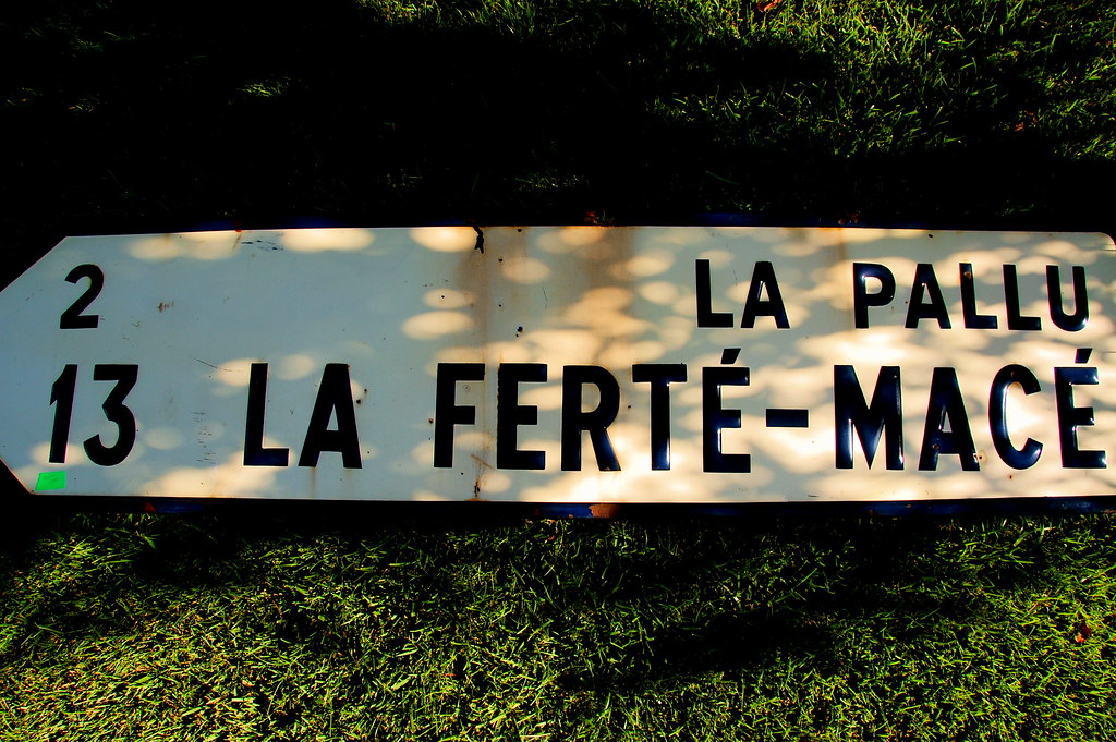 old french sign